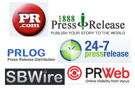 Press Release Distribution Websites