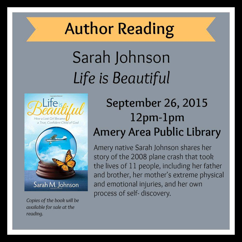 Sarah M. Johnson Book Signing