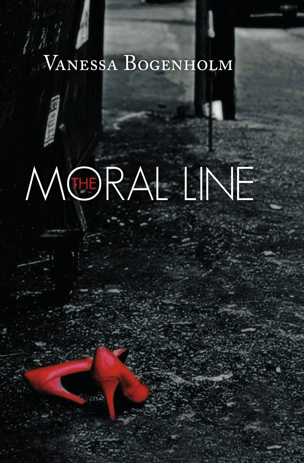 THE MORAL LINE BOOK COVER