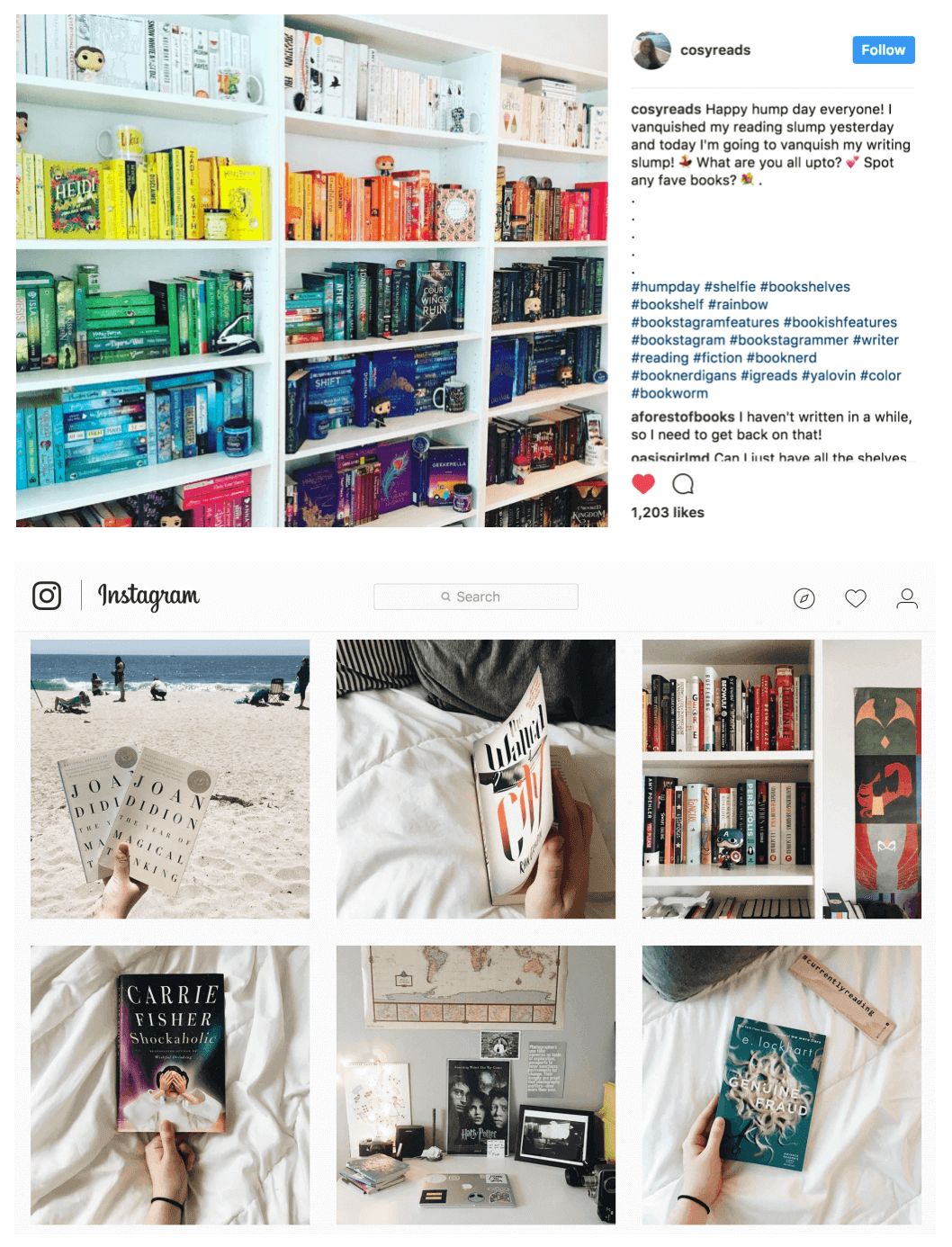 instagram bookstagram